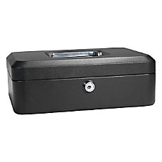 Barska 10 Key Lock Cash Box
