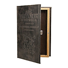 Barska Key Lock Antique Book Lock