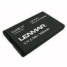 Lenmar CLKBL5J Battery For Nokia 5800