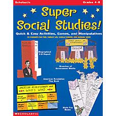 Scholastic Super Social Studies