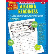Scholastic Algebra Readiness
