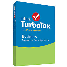 TurboTax Business 2015 For PC Traditional