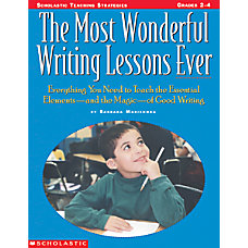 Scholastic Most Wonderful Writing