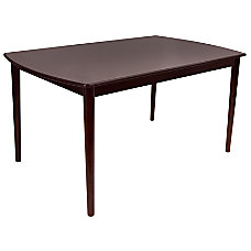 Lumisource Tintori Dining Table Rectangle 30
