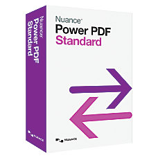 Nuance Power PDF Standard Traditional Disc