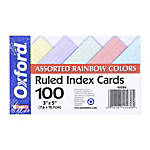 Color Index Cards