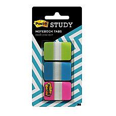 Post it Study Tabs 1 x