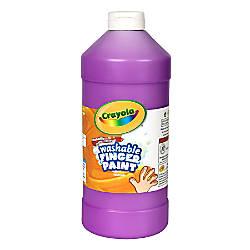 Crayola Washable Finger Paint 32 Oz