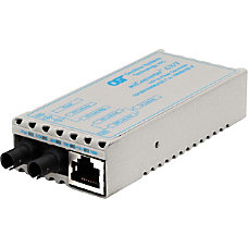 miConverter 101001000 Gigabit Ethernet Fiber Media