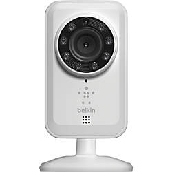 Belkin® NetCam Wi-Fi® Camera With Night Vision, White