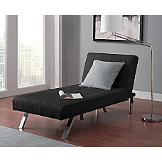 DHP Emily Chaise Lounger Faux Leather