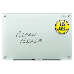 Quartet Infinity Frosted Glass Dry Erase