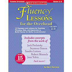 Scholastic Overhead Fluency Grades 2 3