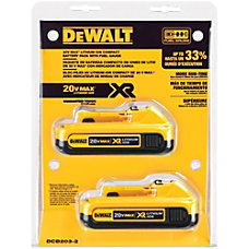Dewalt 20V MAX Compact XR Lithium