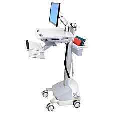 Ergotron StyleView EMR Cart with LCD