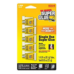 Super Glue Instant Adhesive Mini Tubes