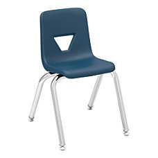 Lorell Student Stacking Chairs 25 H