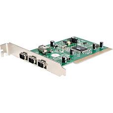 StarTechcom 4 Port PCI 1394a FireWire
