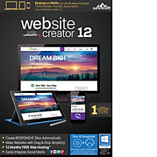 Website Creator 12 Download Version