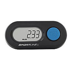 Sportline 340 DS Step Distance Pedometer