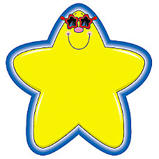 Carson Dellosa Colorful Cut Outs Stars