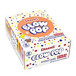 Charms Lollipops Cherry Blow Pop Pack