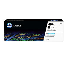 HP 410A Black Toner Cartridge CF410A