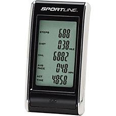 Sportline 308 Snapshot Pedometer Black WV1451BK