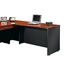 Sauder Via Desk Return Cherry