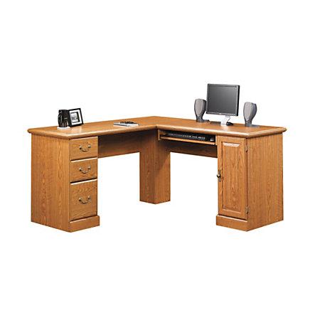 sauder orchard hills corner computer desk 30 1 4 h x 84 1 8 w x 5