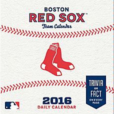 Turner Sports Daily Box Calendar 5