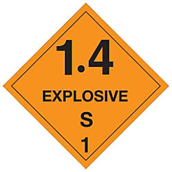 Tape Logic Preprinted Labels 14 Explosive