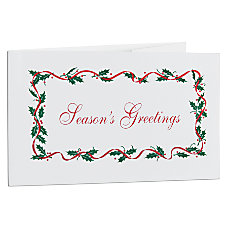 Seasons Greetings Gift Certificates Box Of