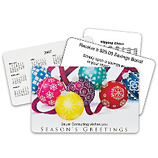 Magnificent Ornaments Holiday Gift Card