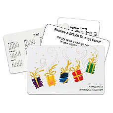 Dancing Presents Holiday Gift Card