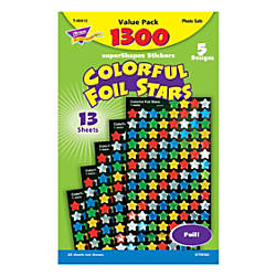 TREND superShapes Stickers Multicolor Foil Stars