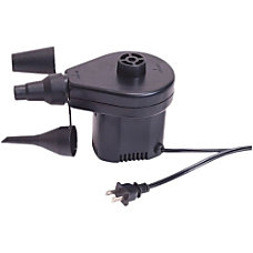 Stansport 120V Electric Air Pump Black