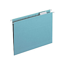 Smead 64058 Aqua Colored Hanging Folders