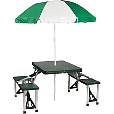 Stansport Portable Picnic Table And Umbrella