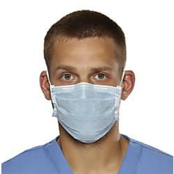 Medline Biomask Antiviral Face Masks Blue