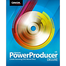 CyberLink PowerProducer 6 Deluxe Download Version