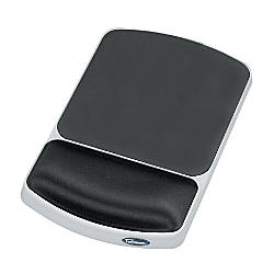 Fellowes Gel Wrist RestMouse Pad Graphite