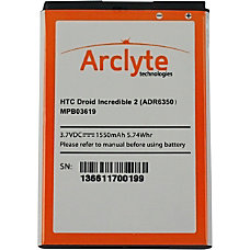 Arclyte HTC Batt ADR6350 Droid Incredible