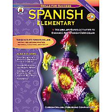 Carson Dellosa Elementary Spanish Book