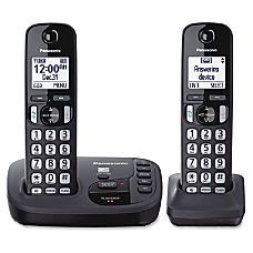 Panasonic KX TGD222N Expandable Digital Cordless
