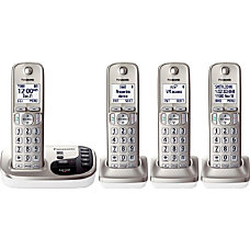 Panasonic KX TGD224N Expandable Digital Cordless