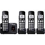 Panasonic KX TGE234B Expandable Digital Cordless