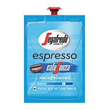 Flavia Segafredo Zanetti Decaffeinated Espresso Cafesenza