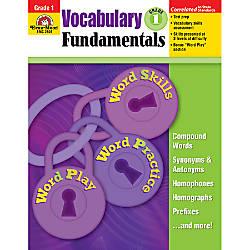 Evan Moor Vocabulary Fundamentals Grade 1