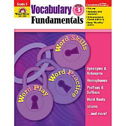 Evan Moor Vocabulary Fundamentals Grade 3